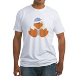 baby boy spring ducky.png Fitted T-Shirt