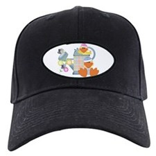 baby ducks and watering can.png Baseball Hat