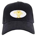 baby girl easter chick.png Black Cap