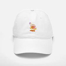 baby girl spring ducky.png Baseball Baseball Cap