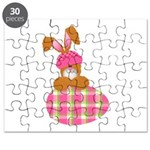 bunny with plaid egg.png Puzzle