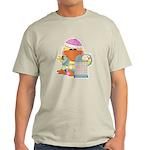 garden time baby girl duck.png Light T-Shirt