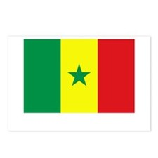 Senegal Flag Picture Postcards (Package of 8)