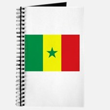 Senegal Flag Picture Journal