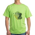 pretty patterns butterfly.png Green T-Shirt