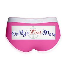 daddys_first_mate.jpg Women's Boy Brief