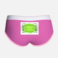 In The Boat, With A Drink Women's Boy Brief