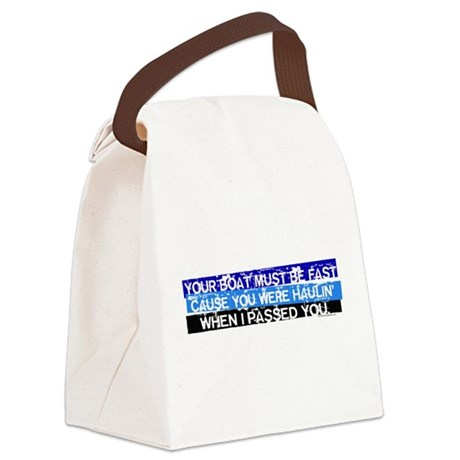 I Passed You Canvas Lunch Bag