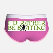 id_rather_be_boating.jpg Women's Boy Brief