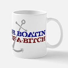 Motor Boatin Mug