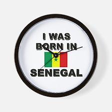 I Was Born In Senegal Wall Clock
