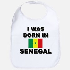 I Was Born In Senegal Bib