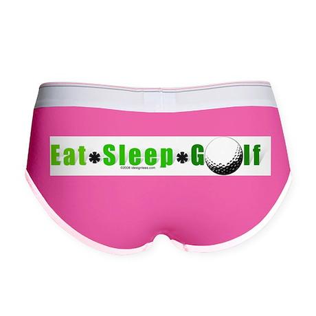 Eat*Sleep*Golf Women's Boy Brief