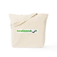 Eat*Sleep*Golf Tote Bag