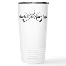 I Shank Therefore I Am Travel Coffee Mug