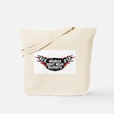 Winners Don't Wear Tearoffs Tote Bag