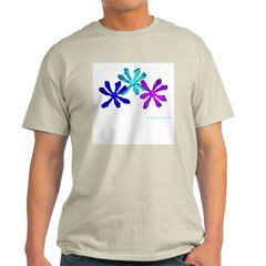 Flowers Ash Grey T-Shirt