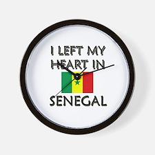 I Left My Heart In Senegal Wall Clock