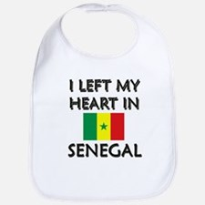 I Left My Heart In Senegal Bib