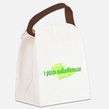 I Piss Excellence Canvas Lunch Bag