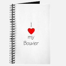 I Love My Bouvier Journal