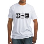 hunt.png Fitted T-Shirt