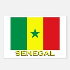 Senegal Flag Gear Postcards (Package of 8)