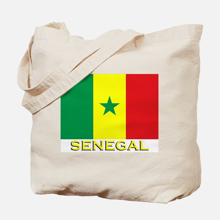 Senegal Flag Gear Tote Bag
