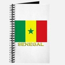 Senegal Flag Gear Journal