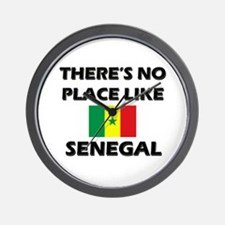 There Is No Place Like Senegal Wall Clock