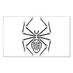 tribal spider design.png Sticker (Rectangle 50 pk)