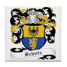 Schutz Coat of Arms Tile Coaster