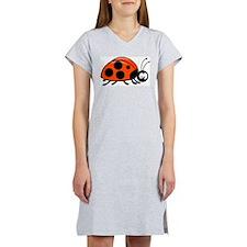 cartn lady bug.jpg Women's Nightshirt
