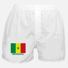 Senegal Flag Merchandise Boxer Shorts