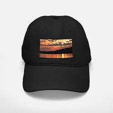 Cavity Lake Sunset Baseball Hat