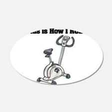 exercise bike.png Wall Decal