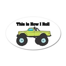 monster truck.png Wall Decal