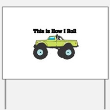 monster truck.png Yard Sign