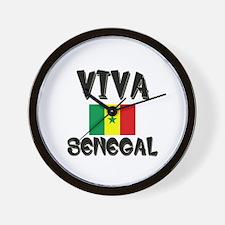 Viva Senegal Wall Clock