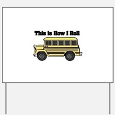 short yellow bus.png Yard Sign