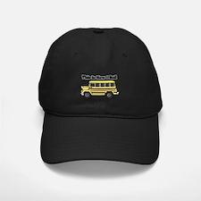 short yellow bus.png Baseball Hat