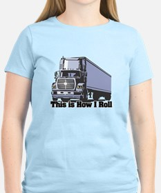 tractor trailer.png T-Shirt
