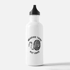 Measure Twice Cut Once Water Bottle