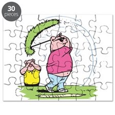 funny golfing pig.png Puzzle