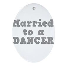 DANCER.png Ornament (Oval)
