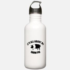 Its All About My Show Pig Water Bottle
