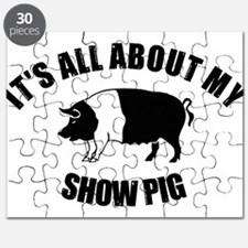 Its All About My Show Pig Puzzle