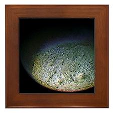 Distant Moon Framed Tile