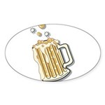 beer.png Sticker (Oval 10 pk)