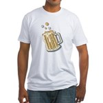 beer.png Fitted T-Shirt